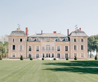 Real wedding at a French Chateau