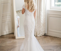 Bespoke Margo Stankova wedding dress