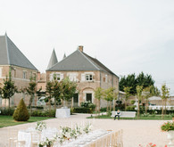 French Chateau wedding reception