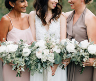 Romantic bridesmaids