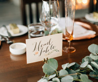 Romantic Canadian lake house wedding