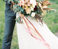 Fall bridal bouquet