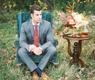 Fall groom attire