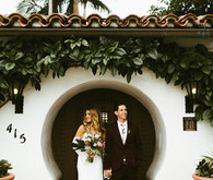 Bohemian wedding at Casa Romantica