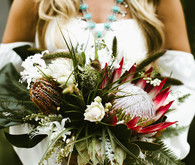 King protea bouquet