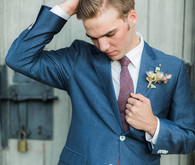 Urban Sartorial groom suit