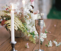 Romantic wedding inspiration at a castle