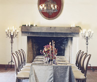 Grey tablescape