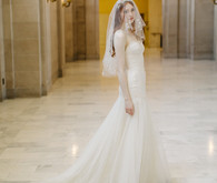 Modern Trousseau wedding dress