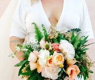 Desert bridal bouquet