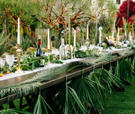 Desert inspired tablescape
