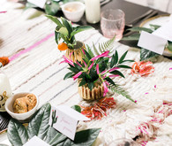 Tropical centerpieces