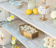 Spring french inspired baby shower