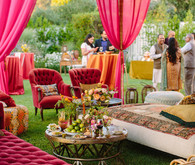 Hot pink decor