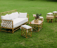 Tropical lounge furniture