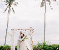 Bohemian wedding in Bali