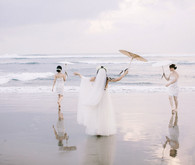 Bali beach wedding