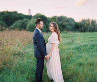 Dreamy formal maternity photos