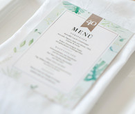 Botanical menu
