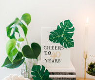 A botanical greenery 40th birthday party
