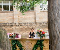 Bohemian modern fiesta wedding