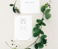 Minted invitations