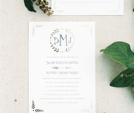 Minted stationery