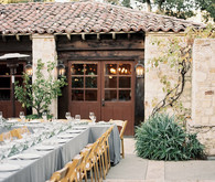 Carmel wedding reception