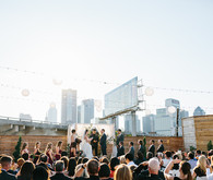 Texas Rooftop Wedding
