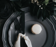 Moody place setting