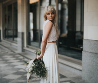 Anya Dionne bridal two piece