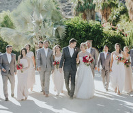 Modern Palm Springs wedding at Colony 29