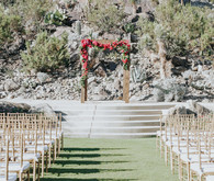 Palm Springs wedding ceremony