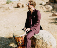 Intimate desert bohemian wedding