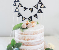 baby shower naked cake