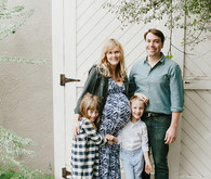 natural, homey maternity photos