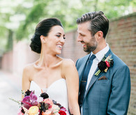 Bold and Beautiful Philadelphia Wedding