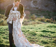 Bohemian wedding dress