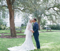 Charleston wedding portrait