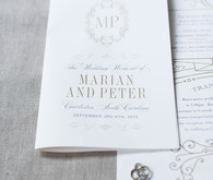 Romantic wedding stationery