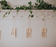 DIY seating chart
