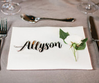 Simple place setting
