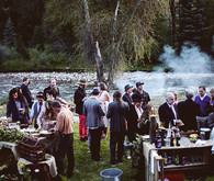 Aspen wedding reception