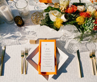 Desert inspired place setting