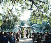 Romantic Savannah destination wedding