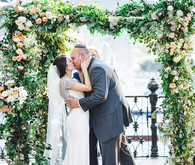 Romantic Savannah wedding ceremony