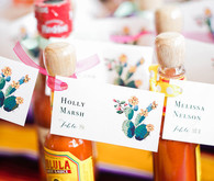 Hot sauce escort cards