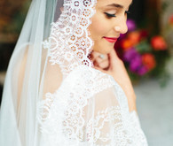 The Mantilla Co wedding veil