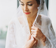 The Mantilla Co. bridal veil