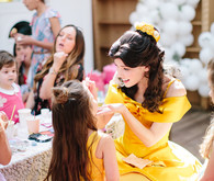modern beauty and the beast birthday party